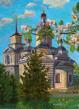 История одного предмета: картина «Дмитровский храм в яблоневом цвете»