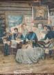 История одного предмета: жестяная коробка из-под конфет фабрики «I∙ Л∙ Дингъ и К» Москва. Конец XIX - начало ХХ века